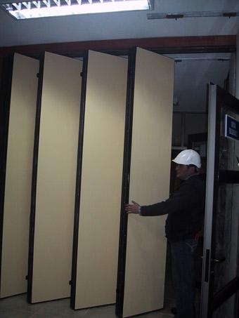 Paneles acusticos modulares muros acusticos moviles paneles moviles chile - Paneles divisorios para oficinas ...